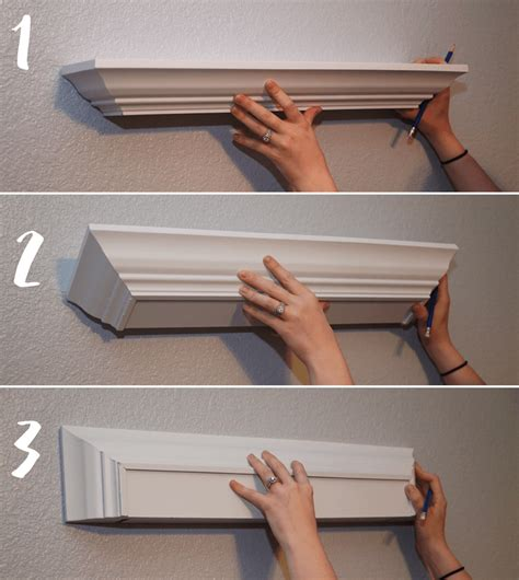 How To Build A Floating Shelf And Hang It