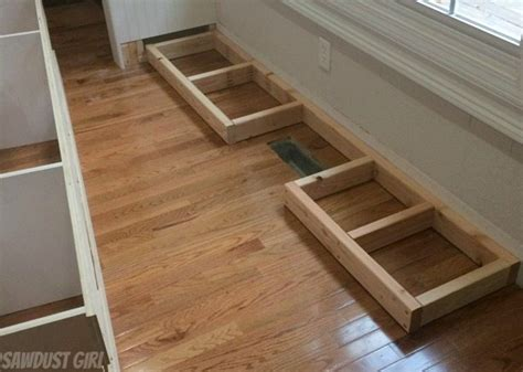 How To Build A Floor Cabinet