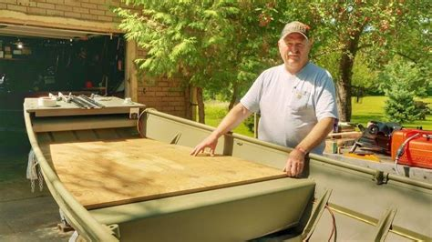 How To Build A Front Deck On A Boat