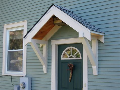 How To Build A Front Door Cover