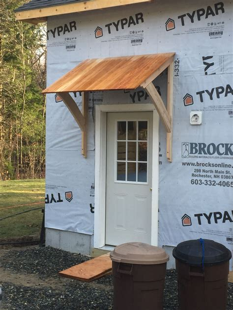 How To Build A Front Door Overhang