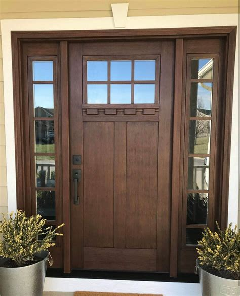 How To Build A Front Door Sidelights