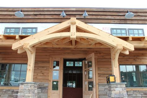 How To Build A Front Door Wood Awning