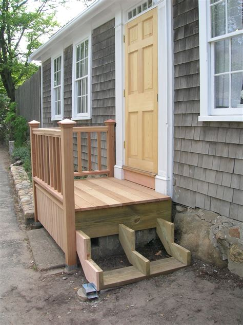 How To Build A Front Entrance Deck