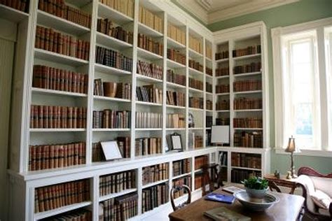 How To Build A Full Wall Bookcase