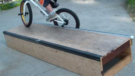 How To Build A Fun Box For Bmx Freestyle