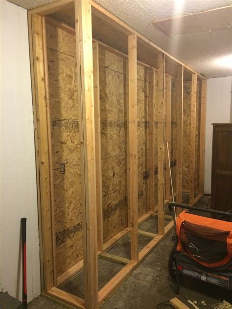 How To Build A Garage Cabinet Frame