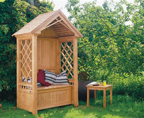 How To Build A Garden Arbour Bench