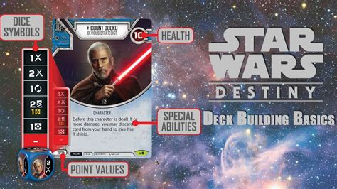 How To Build A Good Deck Star Wars Destiny