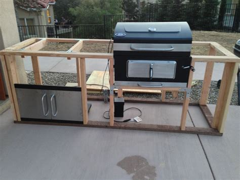 How To Build A Grill Island Plans