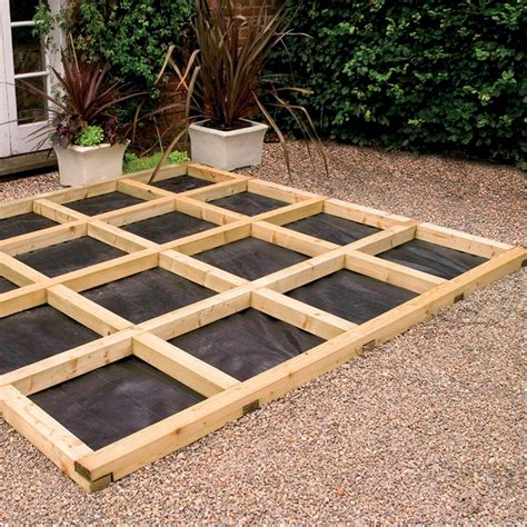 How To Build A Ground Level Deck Uk