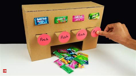 How To Build A Gumball Machine Out Of Boxes