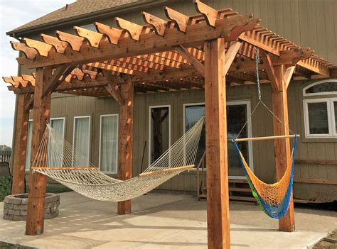 How To Build A Hammock Arbor