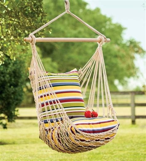 How To Build A Hammock Chair Rope Swing