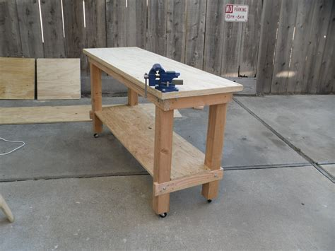 How To Build A Heavy Duty Garage Workbench