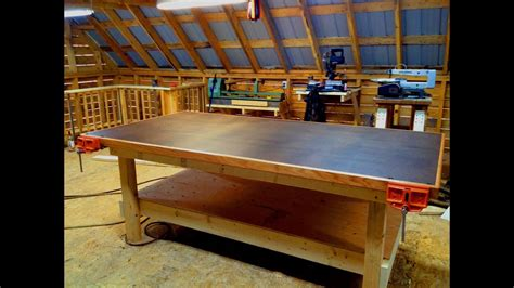 How To Build A Heavy Duty Shop Table