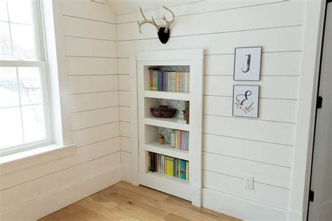 How To Build A Hidden Bookshelf Door Diy