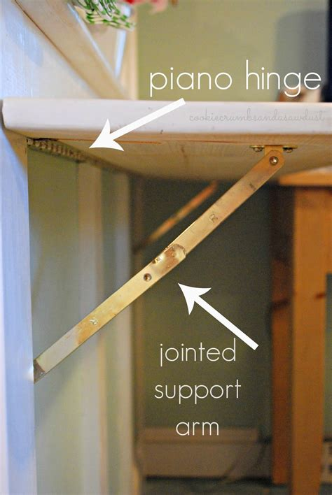 How To Build A Hinged Drop Down Countertop
