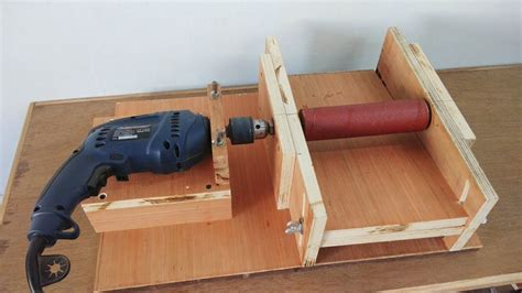 How To Build A Homemade Drum Sander