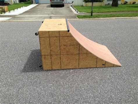 How To Build A Homemade Skateboard Ramp