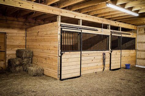 How To Build A Horse Stall Plans Wood