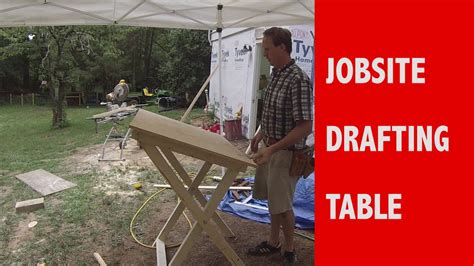 How To Build A Jobsite Blueprint Table