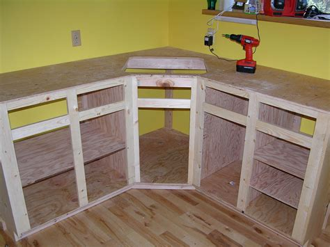 How To Build A Kitchen Counter Frame