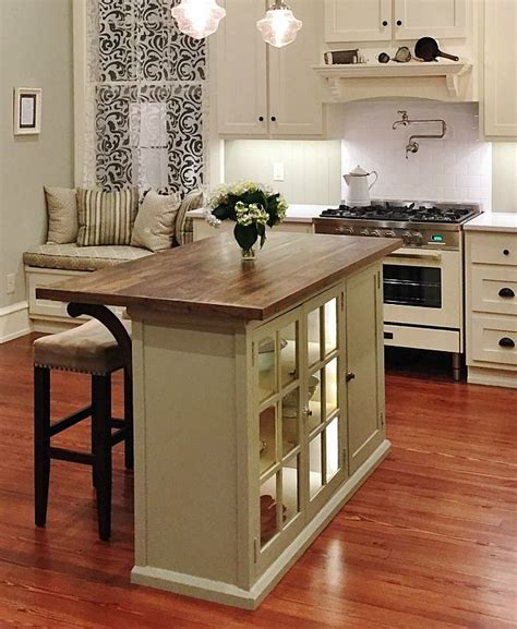 How To Build A Kitchen Island With Seating DIY