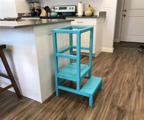 How To Build A Kitchen Stool
