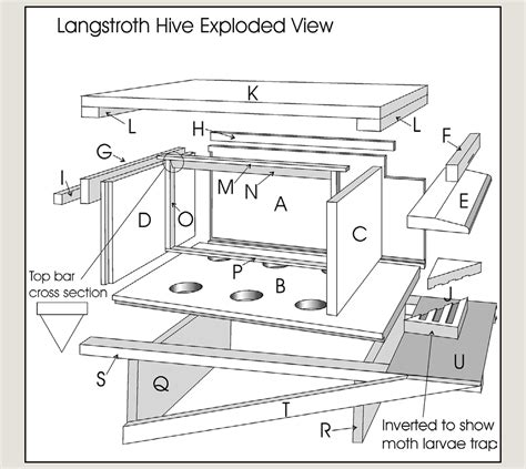 How To Build A Langstroth Beehive Plans 10