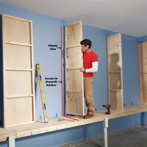 How To Build A Large Garage Storage Cabinet