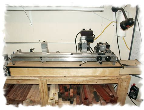 How To Build A Lathe For Your Cue Sticks