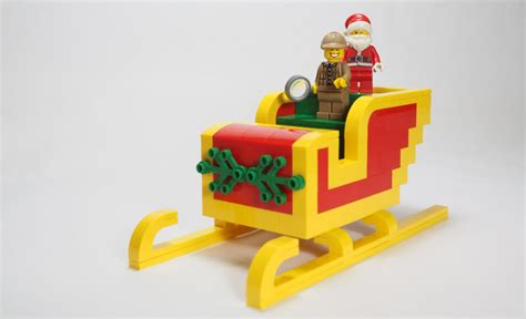 How To Build A Lego Christmas Sleighs