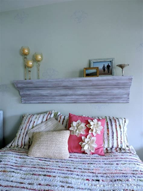 How To Build A Mantel Headboard Ideas
