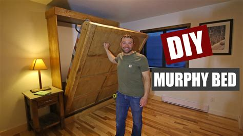 How To Build A Murphy Bed Youtube