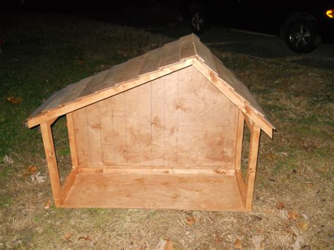 How To Build A Nativity Manger Stable