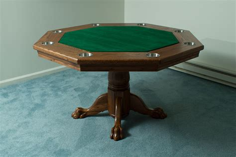 How To Build A Octagon Poker Table Plans