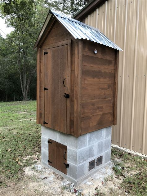 How To Build A Outdoor Smokehouse Plans Videos