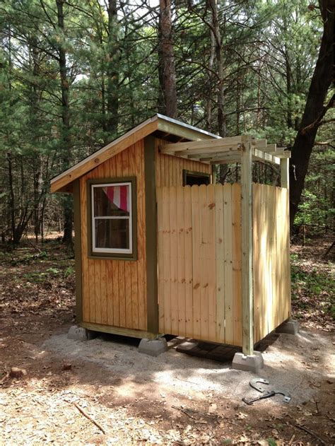 How To Build A Outhouse Bathroom Pictures