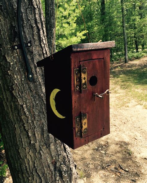 How To Build A Outhouse Birdhouses