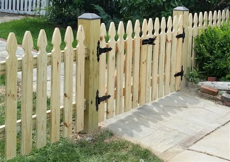 How To Build A Picket Fence Gate 6 Wide