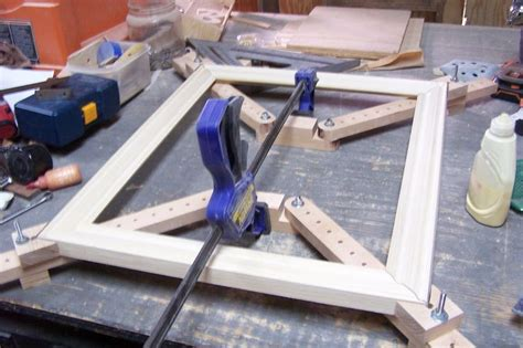 How To Build A Picture Frame Jigs