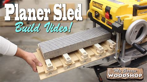 How To Build A Planer Sled Video