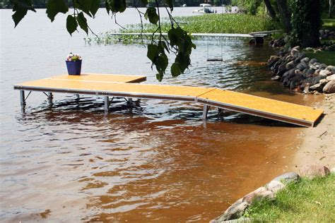How To Build A Pond Dock That Ice Dont Move
