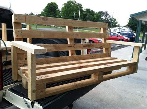 How To Build A Porch Swing Out Of Pallets