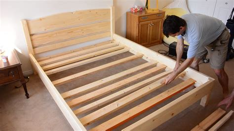 How To Build A Queen Bed Frame With Drawers