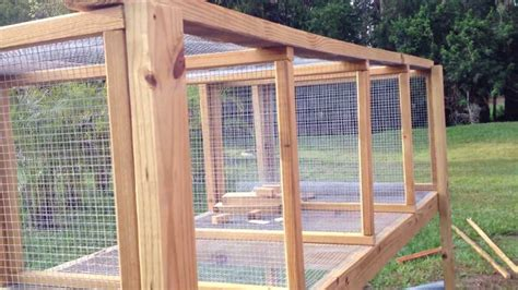 How To Build A Rabbit Cage Plans