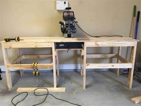 How To Build A Radial Arm Saw Bench