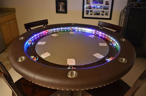 How To Build A Round Poker Table Top