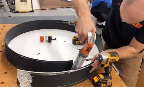 How To Build A Round Table Mould